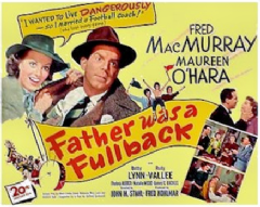 Father Was a Fullback 1949 DVD - Fred MacMurray / Maureen O'Hara